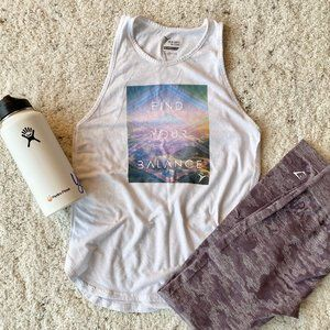 Find Your Balance Yoga Graphic Tank